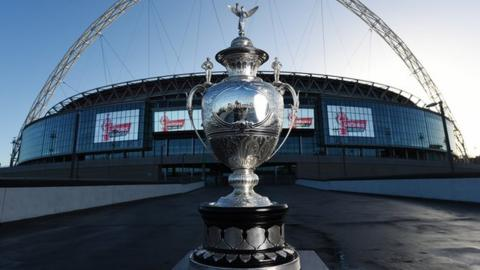 Challenge Cup at Wembley