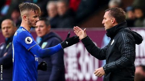 Leicester manager Brendan Rodgers dismisses 'false' stories — James Maddison