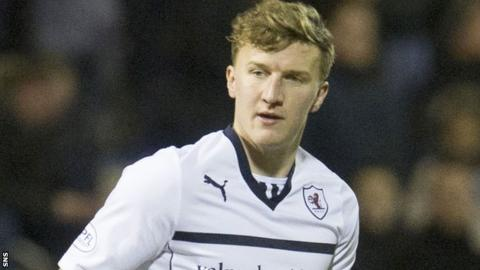 Paul Watson in action for Raith Rovers