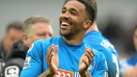 Bournemouth striker Callum Wilson
