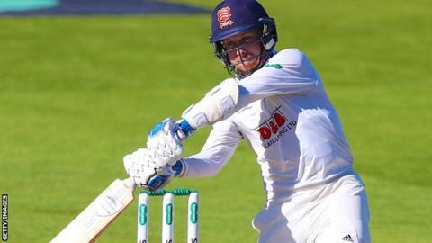 Adam Wheater batting for Essex