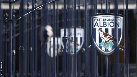 General view outside West Brom's ground