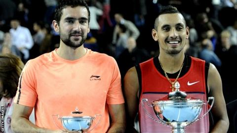 Marin Cilic and Nick Kyrgios