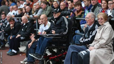 Swansea fans