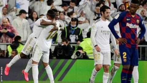Vinicius Junior scored the opener in a second half where Real created several chances