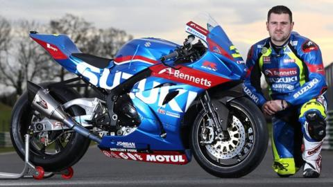 Michael Dunlop will ride for Hawk Racing in 2017