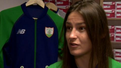 Irish boxer Katie Taylor won an Olympic gold medal in 2012