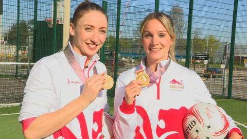 Jade Clarke and Natalie Haythornthwaite