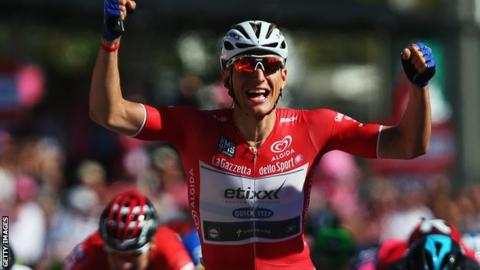 Giro d'Italia: Marcel Kittel claims back-to-back stages to