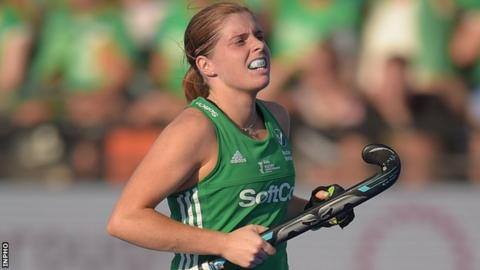 Katie Mullan was in action for Ireland in the series opener in Santiago