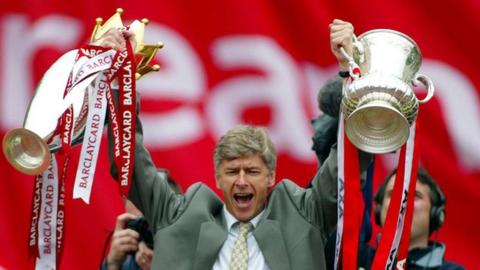 Arsene Wenger double