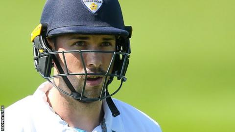Derbyshire batsman Billy Godleman