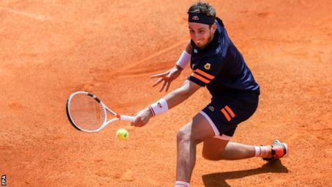 Cameron Norrie is enjoying a good season on clay as he breaks into the top 100