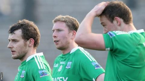 Fermanagh lost 0-14 to 0-11 to Tyrone in the semi-finals of the McKenna Cup