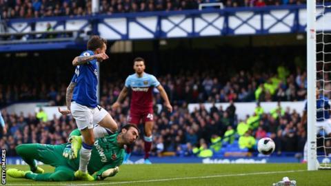 Bernard, Everton