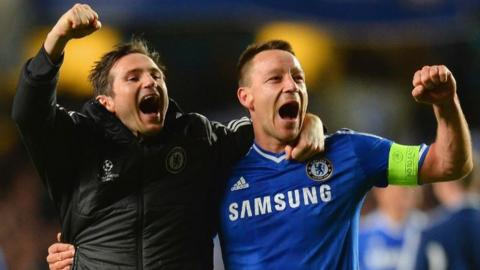 John Terry (right) and Frank Lampard