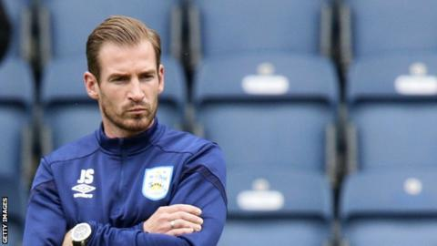 Jan Siewert has won just one of his 18 games in charge of Huddersfield Town