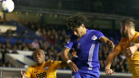Ryan Shotton equalises for Birmingham
