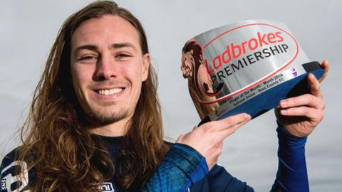 Jackson Irvine is enjoying his football at Ross County