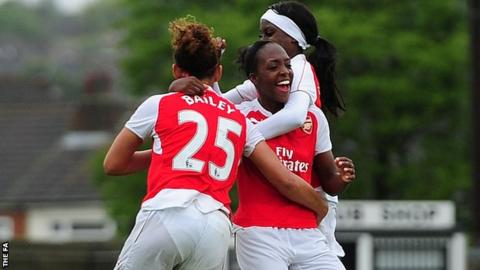 Dan Carter Arsenal Ladies