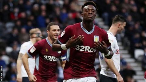 Aston Villa striker Tammy Abraham