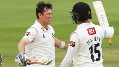 Harry Finch and Matt Machan