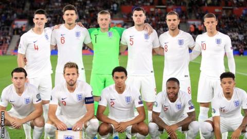 England XI v Kosovo