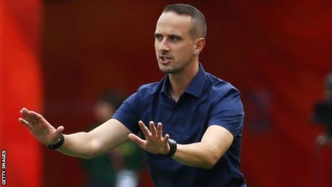 England coach Mark Sampson