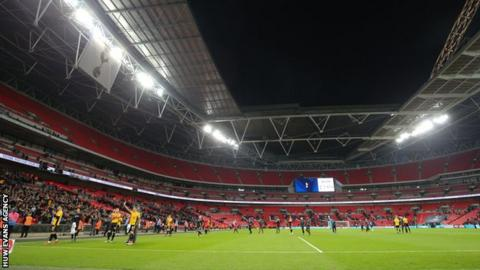 Newport County went to an FA Cup fourth round replay against Tottenham Hotspur at Wembley Stadium, losing 2-0