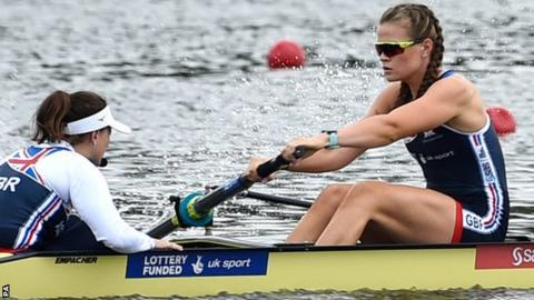 Rebecca Shorten will compete in the women's eight final on Sunday
