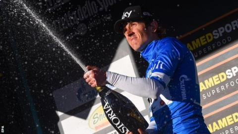 Thomas takes overall lead of Tirreno-Adriatico