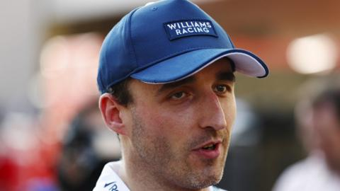Williams F1 driver Robert Kubica