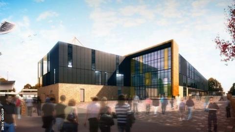 Proposed Cornwall stadium