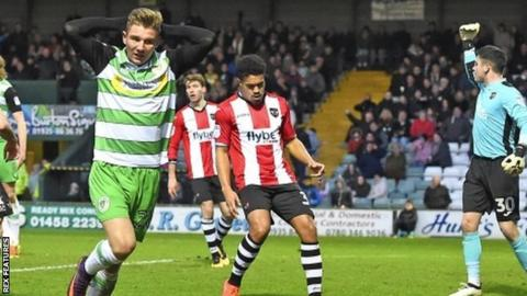 Ben Whitfield originally joined Yeovil from Bournemouth in August