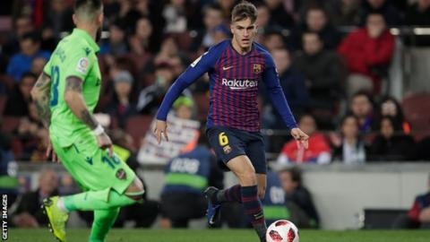 Unai Emery provides Denis Suarez update ahead of Man City clash