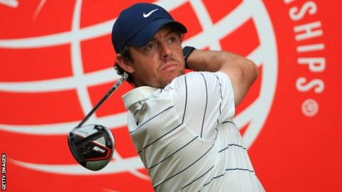 McIlroy made five birdies on his back-nine during an opening round of 67