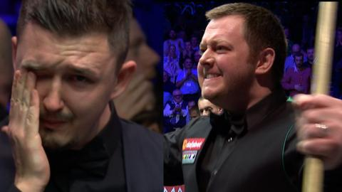 Kyren Wilson's tears and Mark Allen's cheers