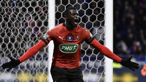 Senegal and Rennes striker M'Baye Niang