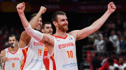 Spain World Cup Basketball