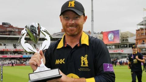 Ian Bell has now captained Warwickshire in both their last two Lord's one-day final victories, having also been skipper in 2010