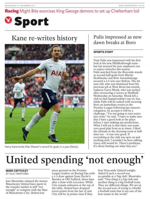 Wednesday's Independent