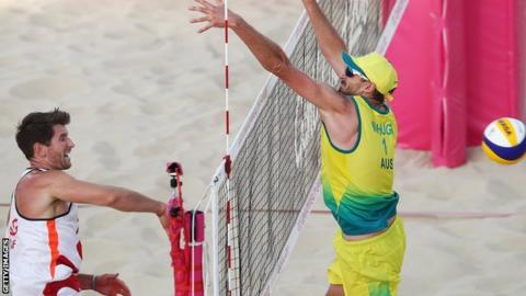 Commonwealth beach volleyball bronze for O'Dea brothers