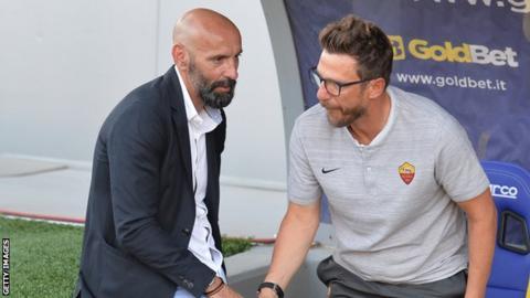 Monchi and Eusebio di Francesco