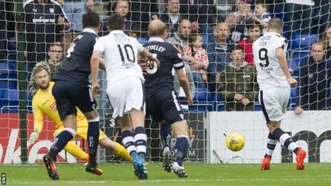 Rory Loy scores