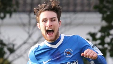 Ryan Mayse came through the youth set-up at Dungannon Swifts