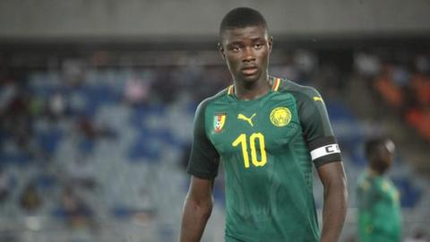 Cameroon under-17 star Steve Mvoue