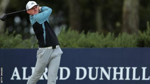 Connor Syme shot 11-under for his last 26 holes on St Andrews' Old Course