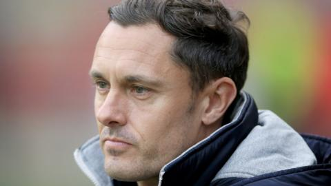 Shrewsbury Town manager Paul Hurst was one of the names linked to the recent vacancy at Sunderland