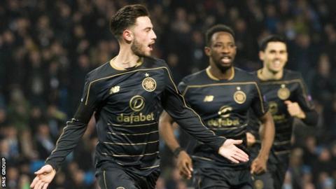 Patrick Roberts scored against parent club Manchester City in the Champions League
