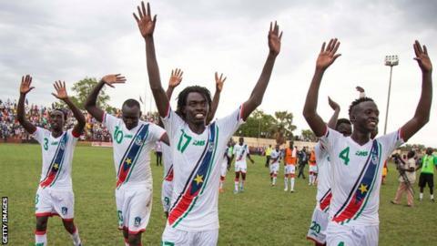 South Sudan to host 2019 international fixtures in Uganda - BBC Sport